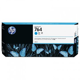 Картридж HP 764 300-ml Cyan Ink Cartridge (C1Q13A)