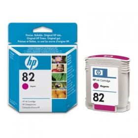 Картридж HP 82 69-ml Magenta Ink Cartridge (C4912A)