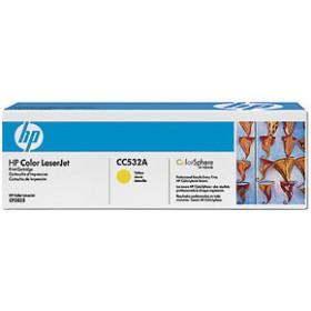 Тонер-картридж HP 304A (CC532A)