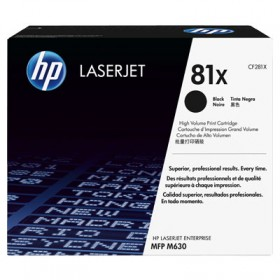 Тонер-картридж HP 81X High Yield Black Original LaserJet Toner Cartridge (CF281X)