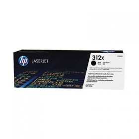 Тонер-картридж HP 312X High Yield Black Original LaserJet Toner Cartridge (CF380X)