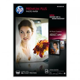 Бумага HP Premium Plus Semi-gloss Photo Paper (CR673A)