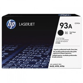 Тонер-картридж HP 93A Black Original LaserJet Toner Cartridge (CZ192A)